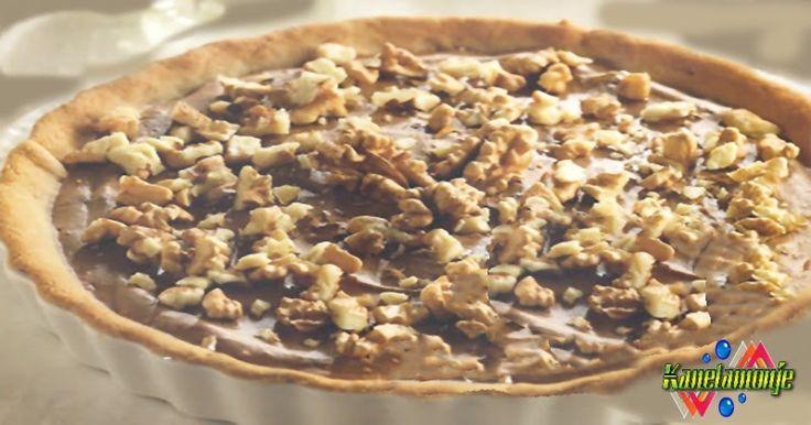 Vamos con esta receta de Tarta de Crema de Chocolate con Nueces, que delicia, podeis ver la receta pulsando en la foto, y si no os importa y os gusta la compartir.  http://kanelamonje.blogspot.com.es/2017/02/tarta-crema-de-chocolate-y-nueces.html