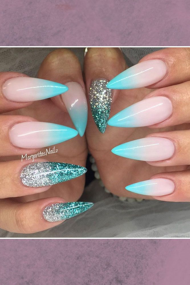 Luxury Pretty Long Nail Designs Crest