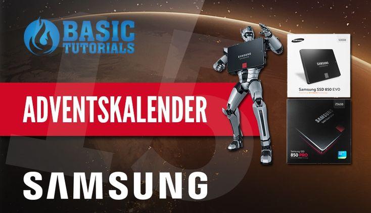 #Adventskalender: Samsung SSD 850 EVO 500 GB #Gewinnspiel