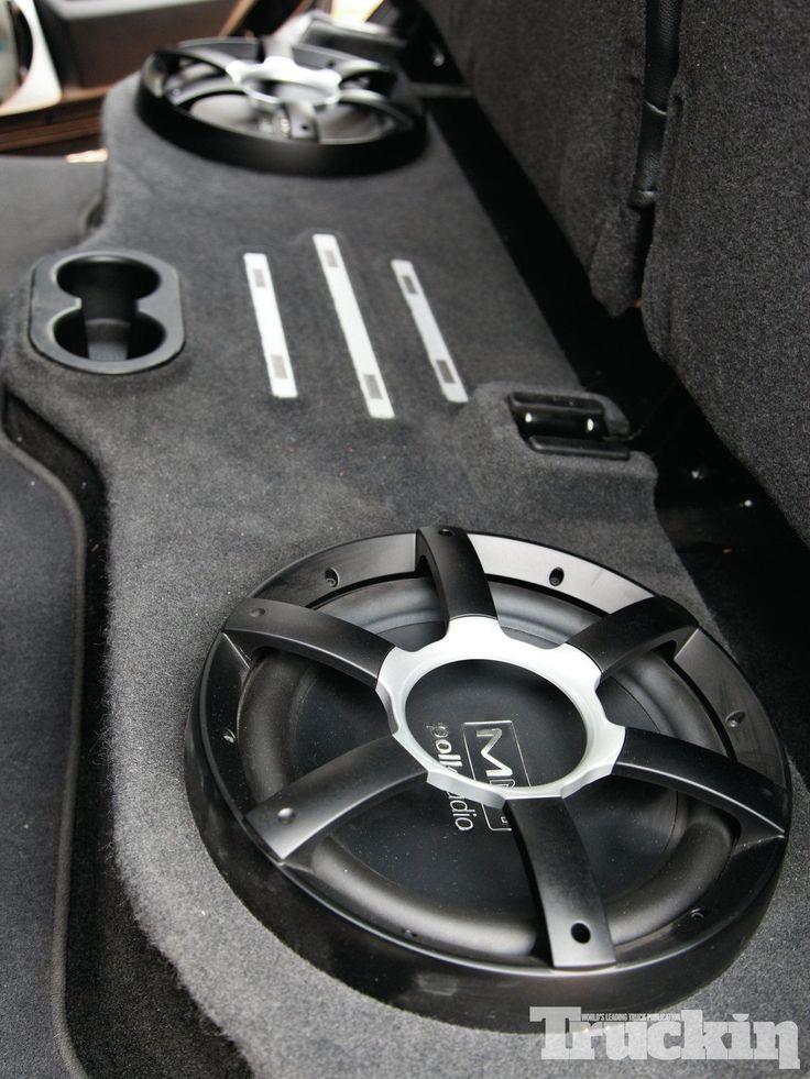 2010 Ram 1500 Polk Audio Subs