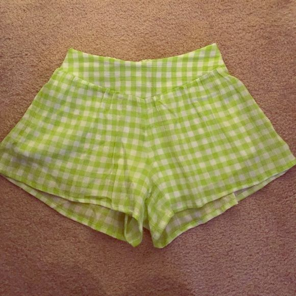 Red Dress Boutique lime green shorts NWOT Never been worn. Red Dress Boutique lime green shorts. Shorts