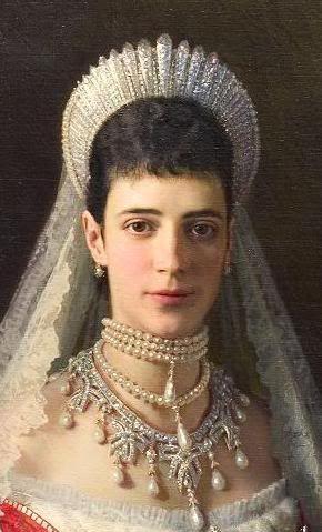 Zarina María Feodorovna de rusia