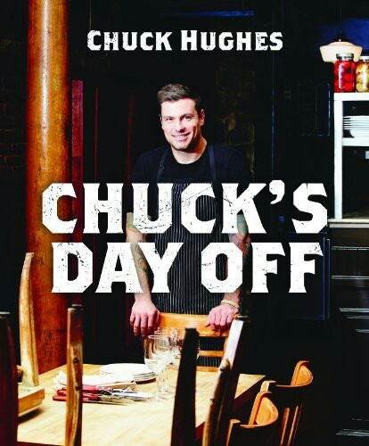Chuck Hughes new book. Patiently waiting for delivery!
