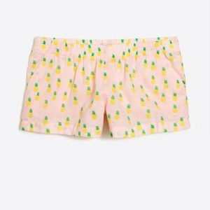 j crew factory pineapple pajama shorts - I just went to J. Crew Factory and tried on a bunch of my new favorite things! The best part? Almost everything is UNDER $100! I've got a 20% off coupon code for you too! Right now, on the blog!