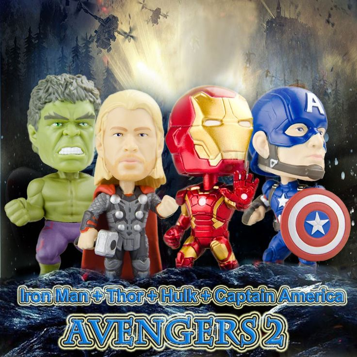 Only US$24.49, Funko POP Marvel Avengers 2 Movie Action Figure Set Iron Man - Tomtop.com
