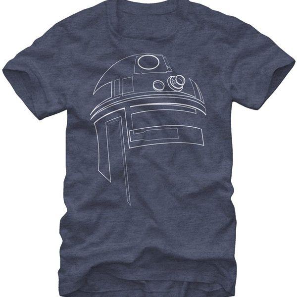 Mens Star Wars The Last Jedi TROOPER OUTLINE T-Shirt Licensed