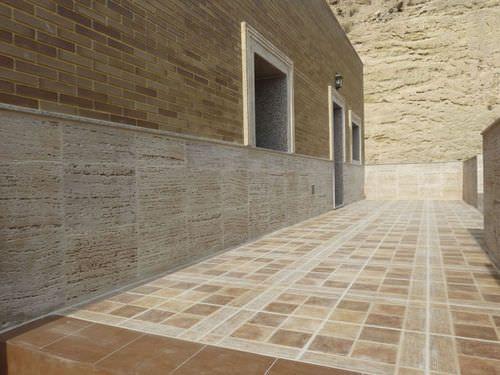 Plaquette de parement en béton / extérieure / intérieure / aspect pierre TRAVERTINO ARENADO Verniprens