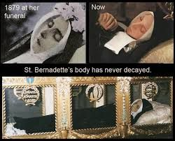 Image result for St bernadette body