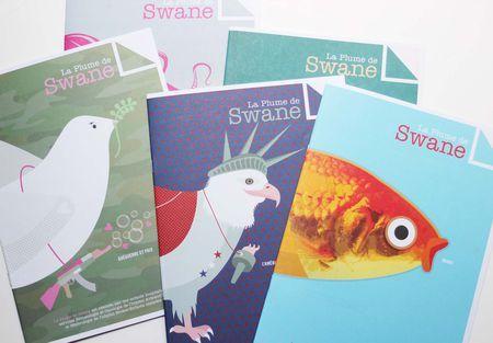 Magazine la Plume de Swane, gratuitement distribué à la boutique Lilli Bulle. #kids #magazine #swane