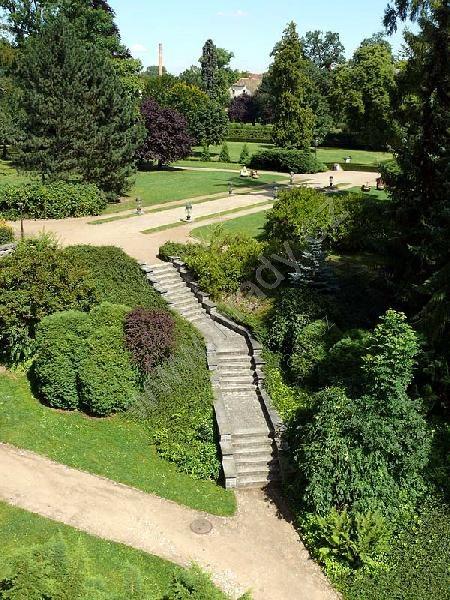 Lnáře - Zámecký park 4
