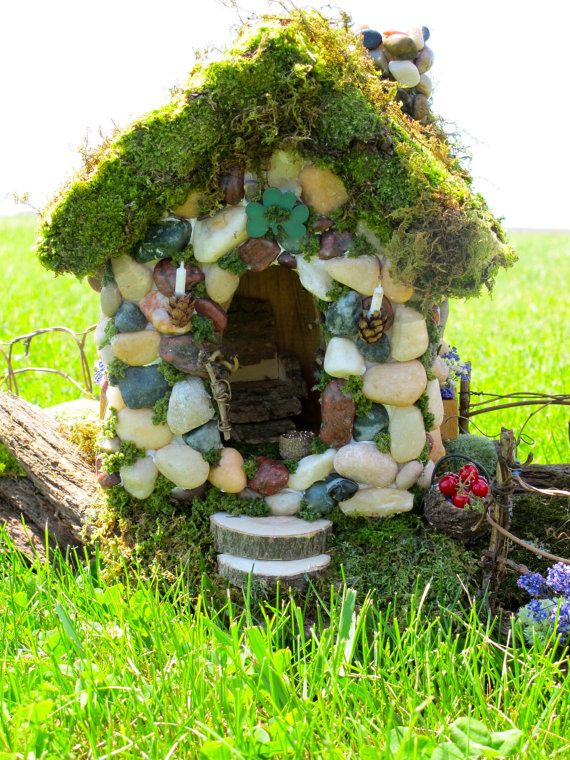151 best images about little houses and places on pinterest for Irish fairy garden