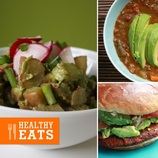 Lunch Ideas Avocado: Open-Face Avocado And Goat Cheese Sandwich