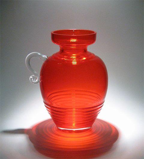 Kleopatra 1509 | Designlasi.com. Aladin, Tamara Manufacturer: Riihimäen Lasi. Designed in: 1969. In production: 1970-1972. Height: 250 mm.