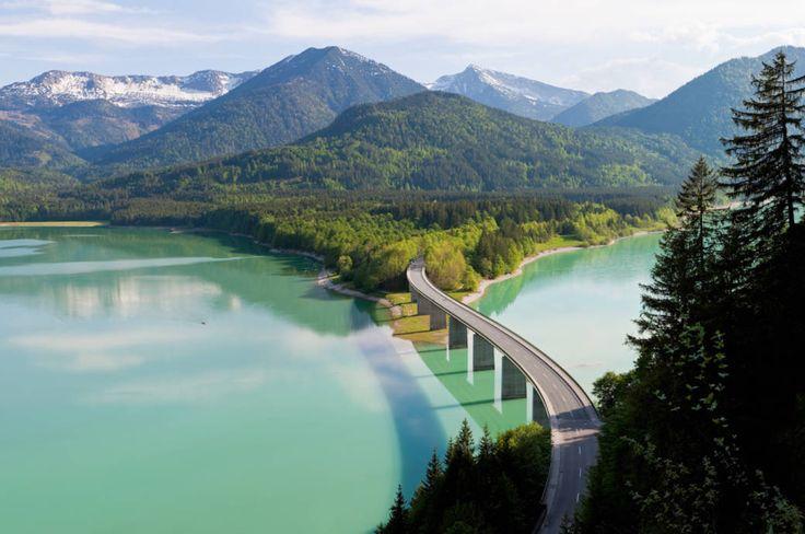 Brücke Sylvensteinspeicher