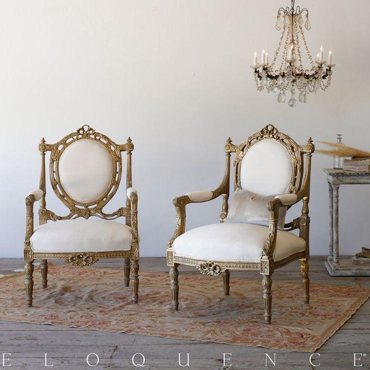 Pair of Vintage Armchairs: 1940 $2180.00