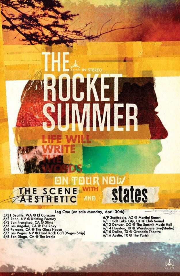 The Rocket Summer poster