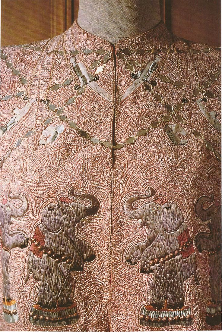 Lesage 'Circus' Elephant Embroidery for Schiaparelli 1938