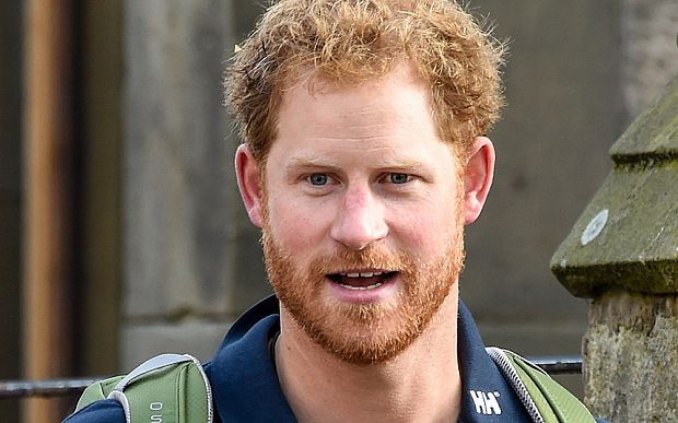 Who is the one of the most good-looking men?- Prince Harry shows off his beard as he participates in the Walking with the Wounded hike