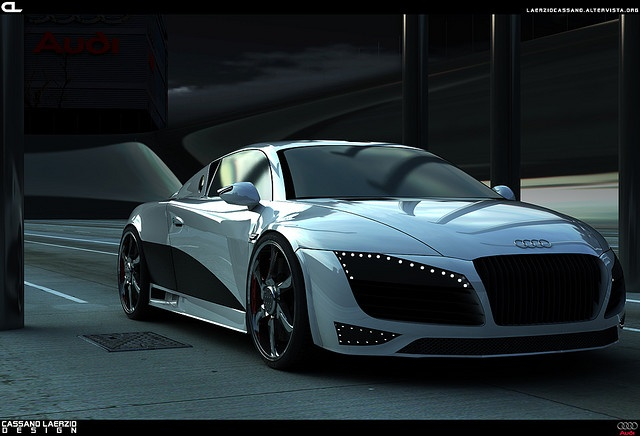 Audi R7 Concept by Laerzio Cassano, via Flickr.........Wow!
