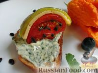 """Фото приготовления рецепта: Закуска """"Арбузная долька"""" - шаг №8"""