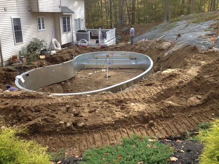 17 best images about pool on pinterest swimming pools for In ground swimming pool contractors