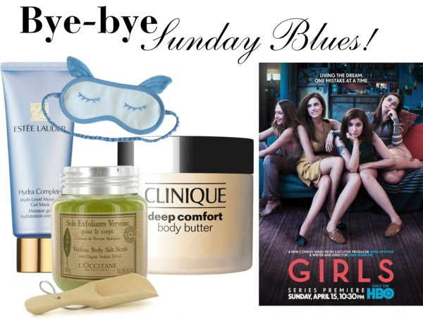 """""""Bye-bye Sunday Blues..."""" by pixibox on Polyvore"""