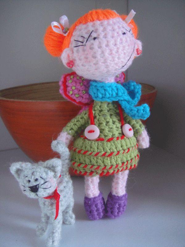 stokrotka: szydełkowe lalki/crochet dolls