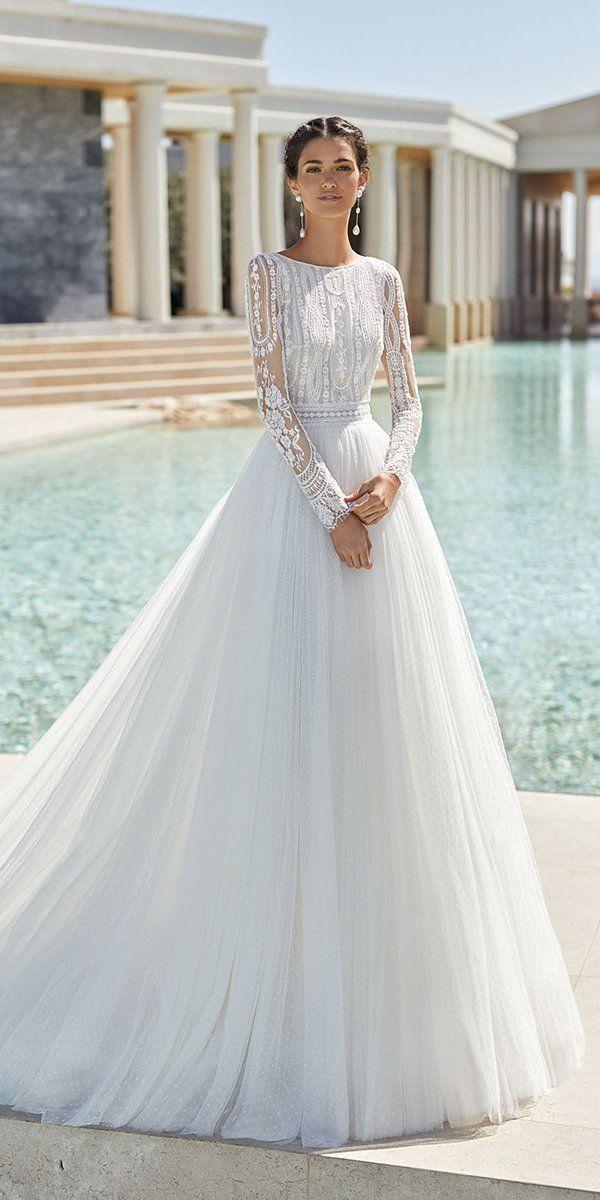 30 Cute Modest Wedding Dresses To Inspire Wedding Dress Long Sleeve