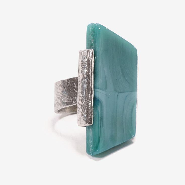 PASSAT || Artisan pewter adjustable ring, handmade in Canada by Anne-Marie Chagnon (2017) || Bague ajustable fait à la main à Montréal, par l'artiste bijoutière Anne-Marie Chagnon