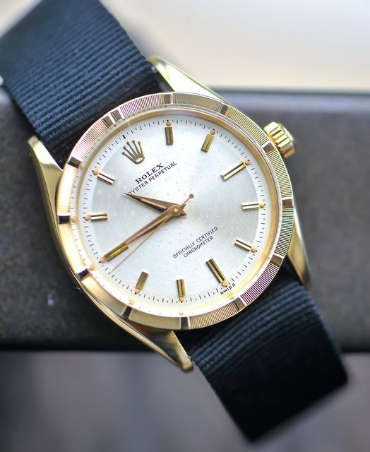 Rolex Oyster Perpetual with NATO band