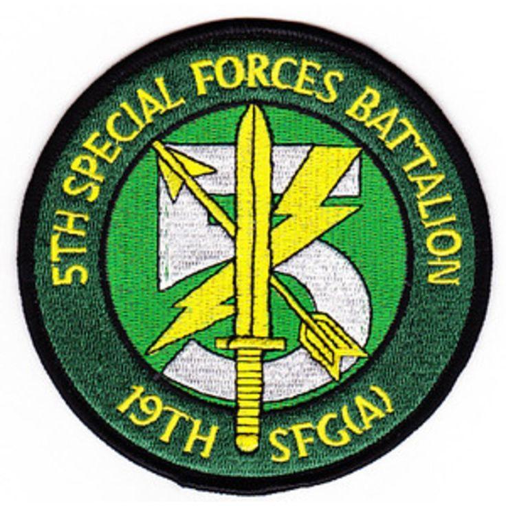 5th Bn 19th SFGA US Army pocketpatch
