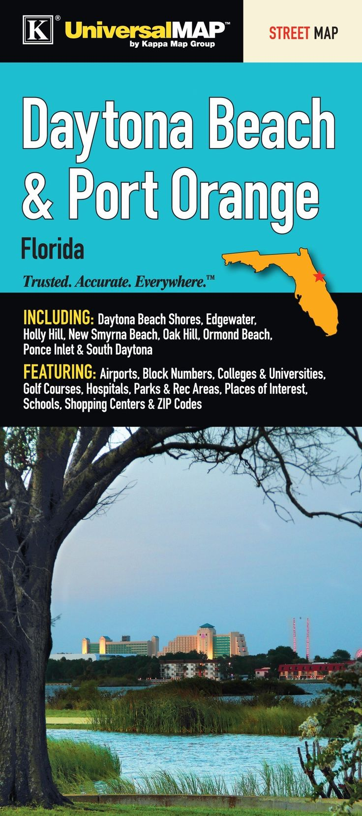 Best  South Florida Map Ideas On Pinterest - Florida map daytona area