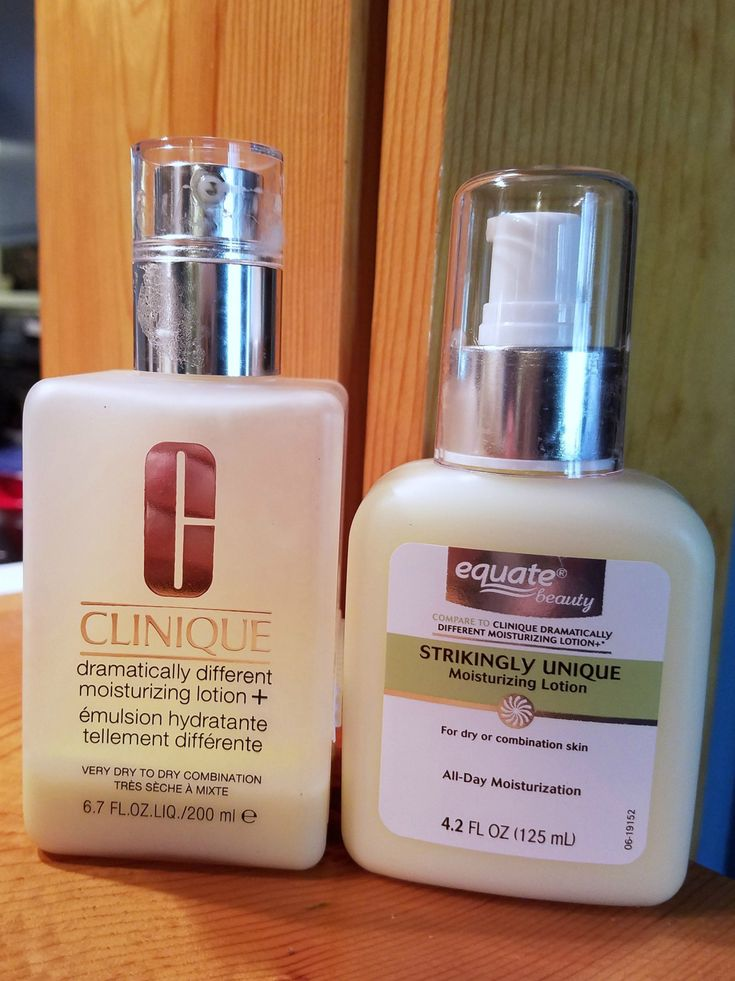 The Equate Strikingly Unique Moisturizing Lotion is sold as a comparison to the Clinique Dramatically Different Moisturizing Lotion +. I have used the Clinique Dramatically Different Moisturizing …