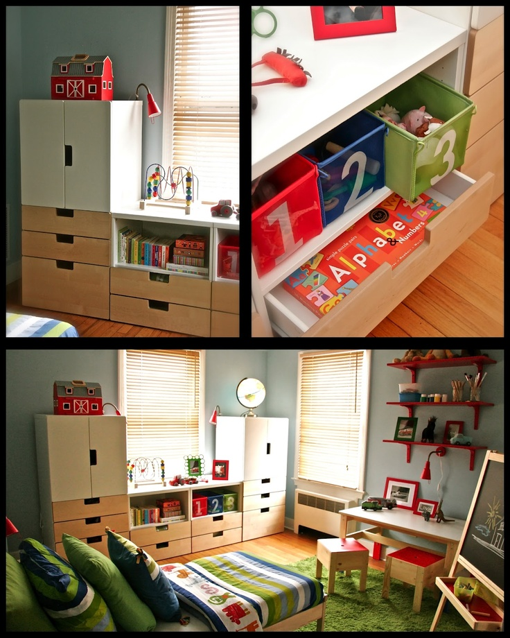 Ikea Stuva System for B's room?