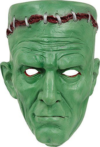 Adult Halloween Horror Scary Fancy Dress Party Accessory Frankenstein Mask @ niftywarehouse.com #NiftyWarehouse #Frankenstein #Halloween #Horror #HorrorMovies #ClassicHorror #Movies