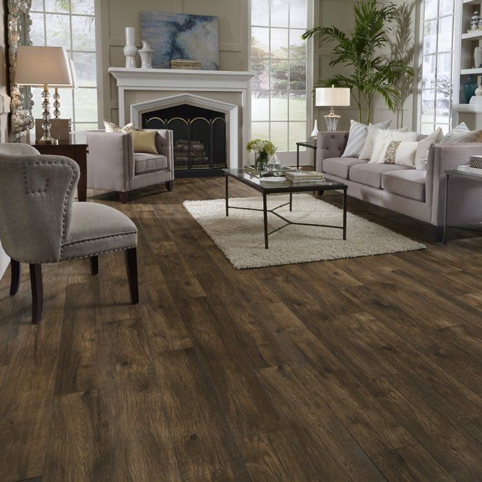 Restoration Collection 8 X 51 X 12mm Hickory Laminate Flooring In Acorn Wood Floors Wide Plank House Flooring Oak Laminate Flooring