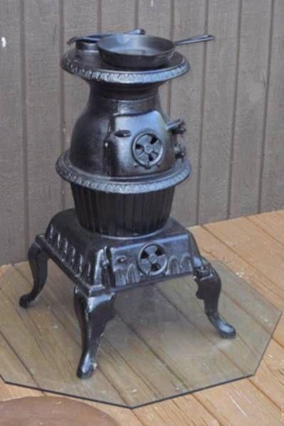 Vintage Ashley Wood Burning Stove