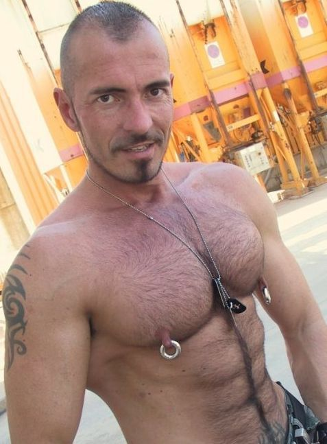 from Pablo gay male erect nipples