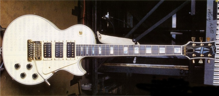 Steve Clark | Gibson Custom Les Paul Custom 3 Pickup.