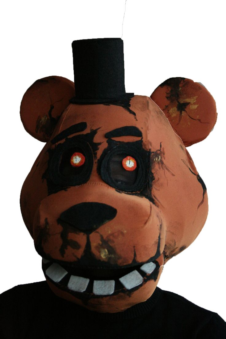 Fnaf bonnie costume for sale - Fnaf Freddy The Fuzzbear Mask By Oneandonlycostumes On Etsy
