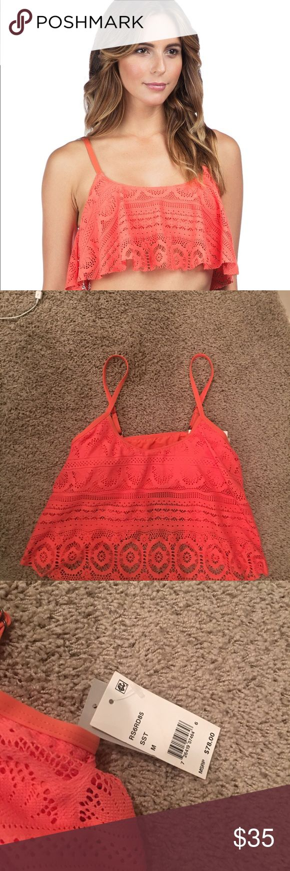 NWT Kenneth Cole Reaction Swimsuit Top Medium NWT Kenneth Cole Reaction Coral Swimsuit Top Medium purchased from Dillards!! adorable!! Kenneth Cole Reaction Swim