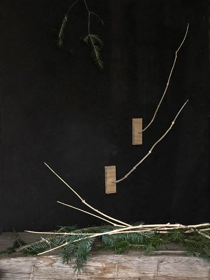 Make A Weather Stick Out Of Your Christmas Tree Stick It Out Tree Christmas Tree