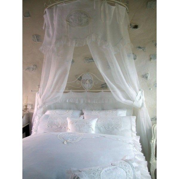 rideau de ciel de lit ch teau de vincennes amandine de brevelay brises bise stores rideaux. Black Bedroom Furniture Sets. Home Design Ideas