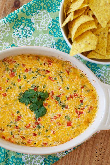 baked tex-mex pimento cheese dip