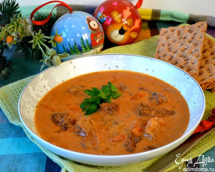 Суп из бычьего хвоста | Кулинарные рецепты от «Едим дома!»