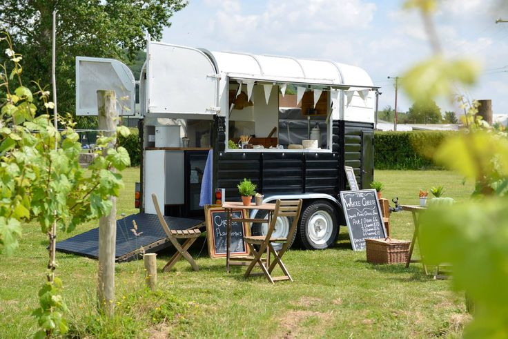 Easily customizable converted horse trailers have proven effective shops for mobile businesses.