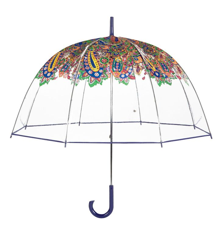 bubble umbrella - I used to have a couple of these. The ability to see and still stay dry was great
