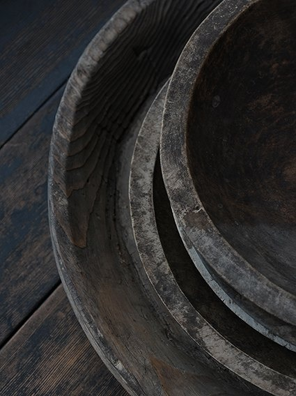 wooden bowls by Douguya, Japan