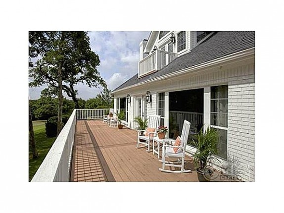 2nd story wraparound balcony! Kelly Clarkson's Mansfield Ranch for Sale   Zillow
