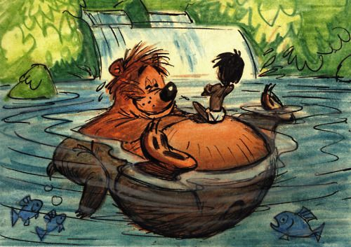 The bare necessities of life?  Concept Art for The Jungle Book